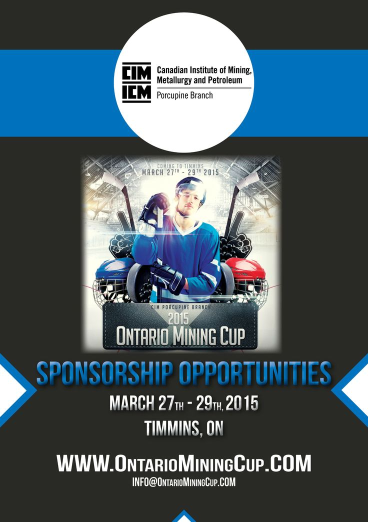 2015 Ontario Mining Cup - Sponsorship Opportunities