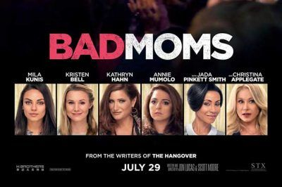 BAD MUMS AT THE EMBASSY CINEMAS From the writers of The Hangover, Jon Lucas and Scott Moore direct Mila Kunis, Kathryn Hahn and Kristen Bell in this comedy.