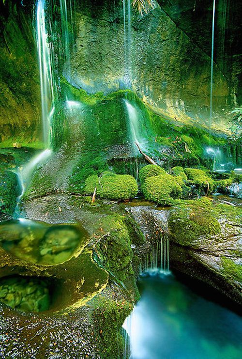 Rainforest Cascades, Tasmania | ©Kevin McGennan (The Walls of Jerusalem National Park, Tasmania, Australia)