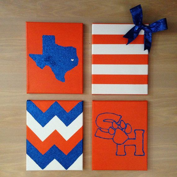 MEMORIAL DAY SALE! University Wall Decor Bundle 4 by TexasClass on Etsy, $40.00