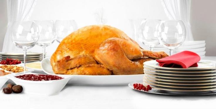 Pavo de Acción de Gracias Cascajares. El primer pavo ya elaborado, y de alta calidad, pensado para la  comida de Acción de Gracias en Estado Unidos.