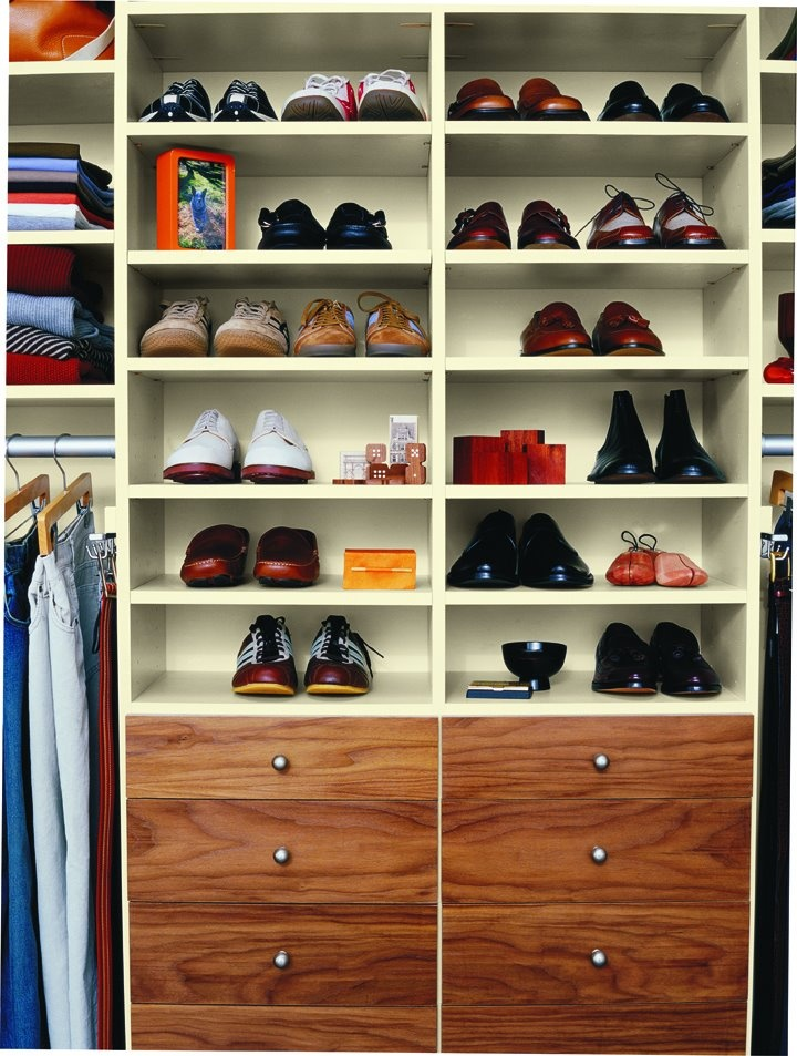 Finally Get His Shoes Off The Living Room Floor And Into The Closet!  #design. California ...