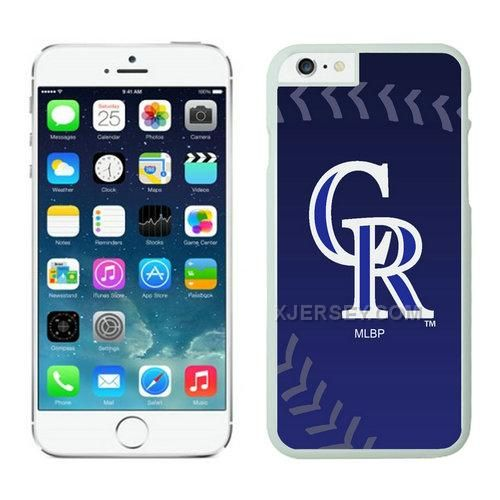 http://www.xjersey.com/colorado-rockies-iphone-6-cases-white02.html Only$21.00 COLORADO ROCKIES #IPHONE 6 CASES WHITE02 #Free #Shipping!