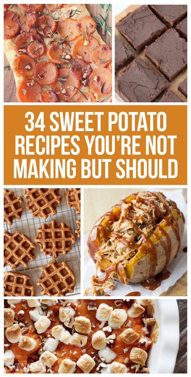 34 Different Sweet Potato Recipes You Should Try Today!