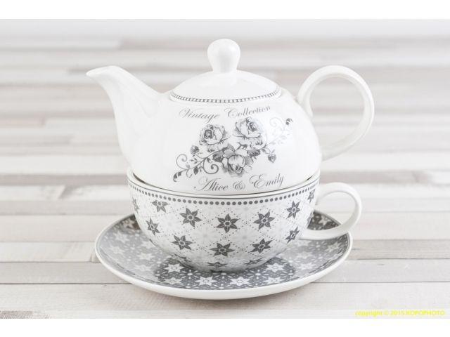 Zestaw do herbaty Tea For One, Emily