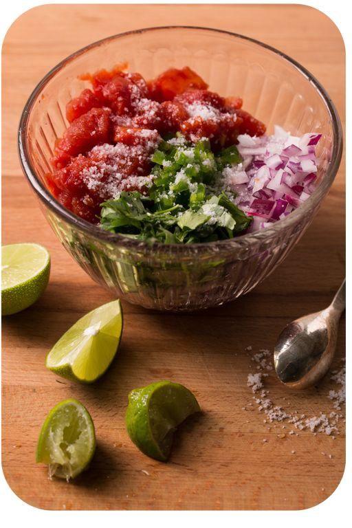 Salsa fresca | Fit Food | Pinterest