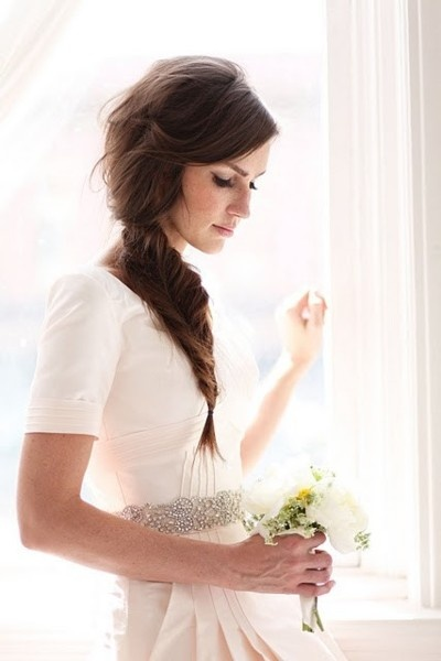 Braided Hair, Bridal Photography