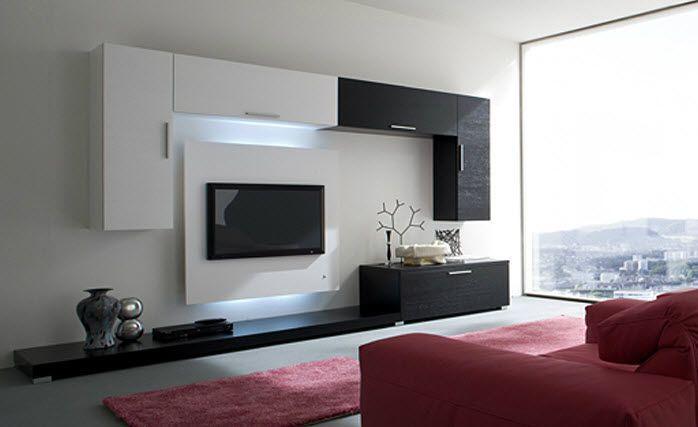 modern tv wall photo albums. modern tv unit design for living room