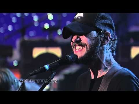 Band of Horses - The Funeral (Live On Letterman) - YouTube