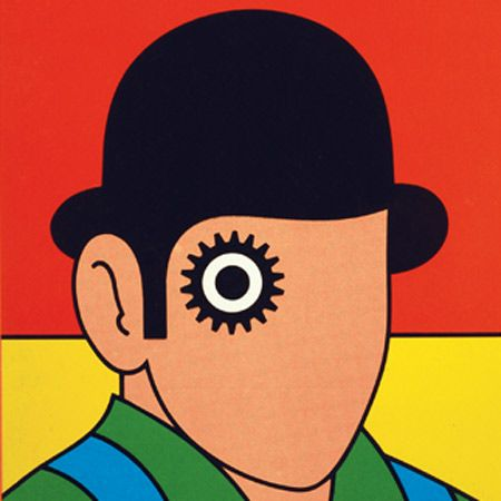 Early Penguin Clockwork Orange book cover