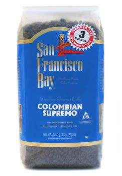 100% Fine Colombian coffee at only $8.33 per pound!  http://www.gourmet-coffee.com/colombian-supremo-bulk.html.  #colombian #coffee #arabica #beans #gourmet #costco