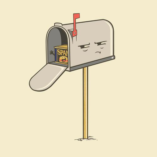 You've Got Spam! - Happy drawings :)