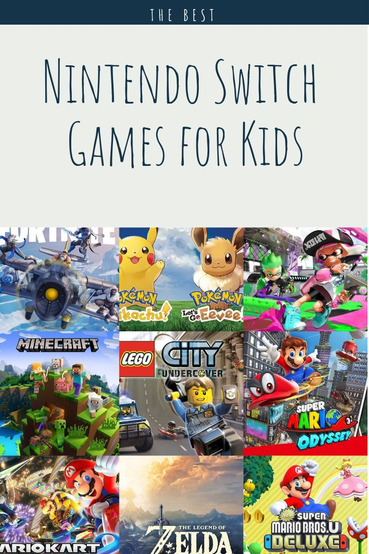 The Best Nintendo Switch Games for 4 12 year olds