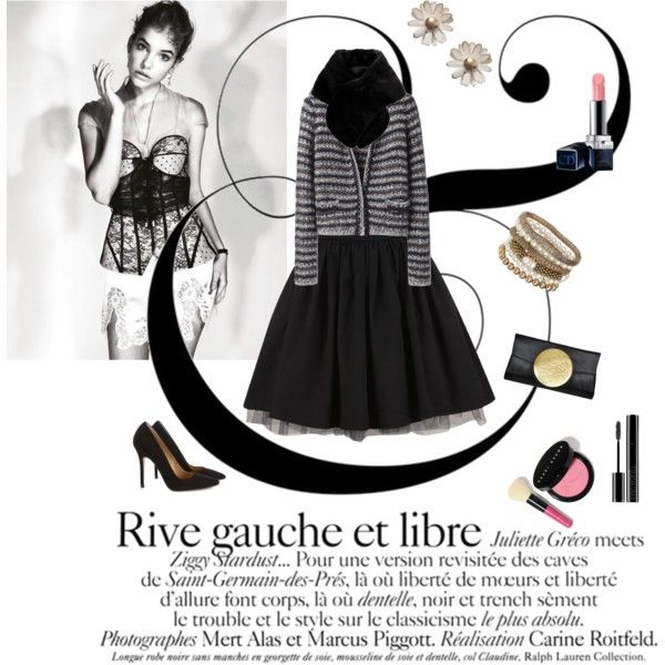 """Rive Gauche"" by naughtystylishsoul on Polyvore"