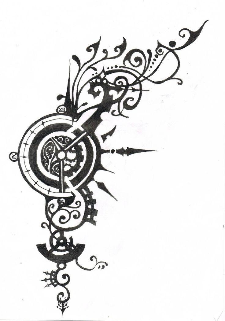 Resultado De Imagem Para Steampunk Tattoo Designs