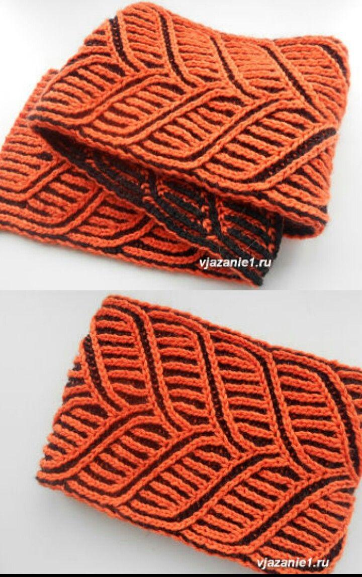 Lujo Brioche Knitting Patterns Componente - Manta de Tejer Patrón de ...