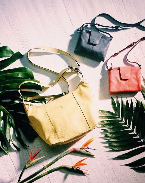 Whether it's the Alex Hobo or the smaller Alex Crossbody, step into spring with these fresh new styles and colors! | Ellington Handbags