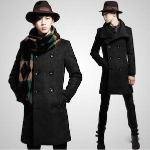 パンツ×帽子×トレンチコート×マフラー