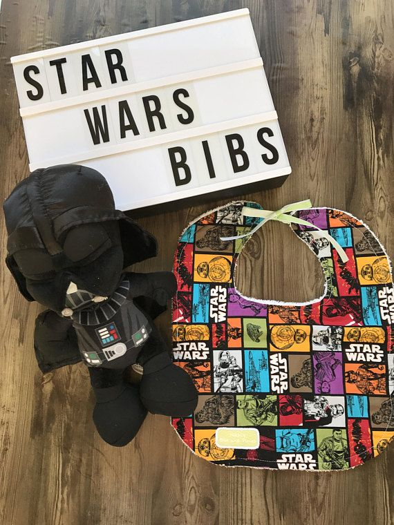 Handmade Star Wars Force Awakens Bibs