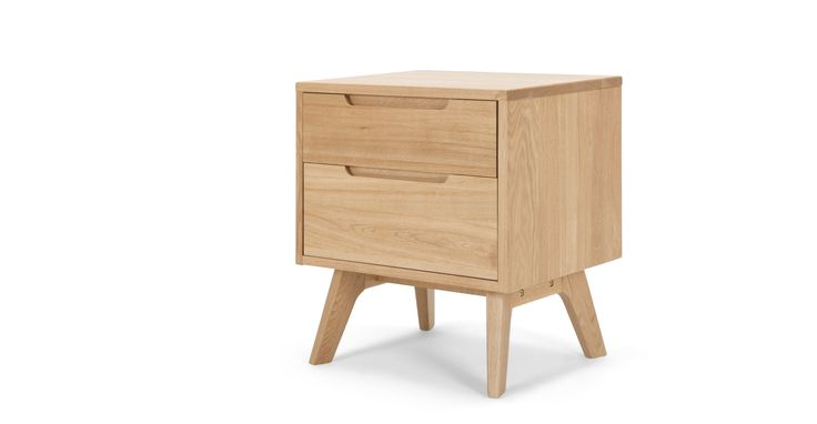 Jenson Bedside Table, Oak