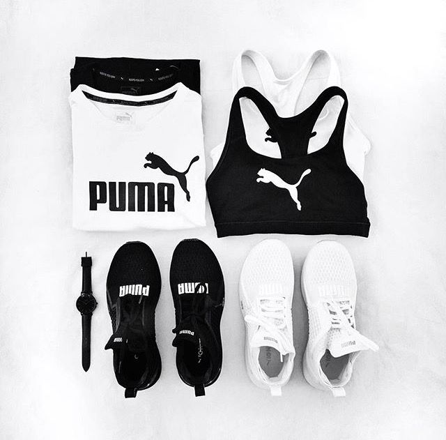 Puma workout outfit