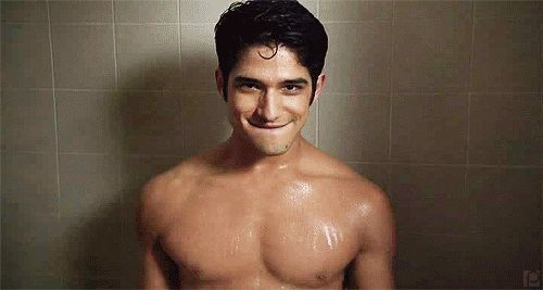 Pin for Later: 22 Hot Stars With the Right Stuff For Stripping Tyler Posey Wet t-shirt contest? Nah, but we'd be down for a wet underwear contest staring Tyler.