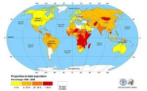Feeding Minds, Fighting Hunger: World Hunger Map