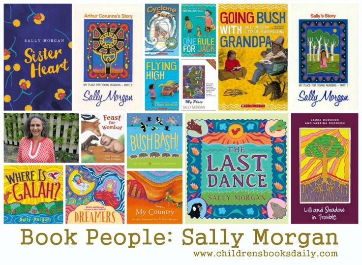 Book People: Sally Morgan