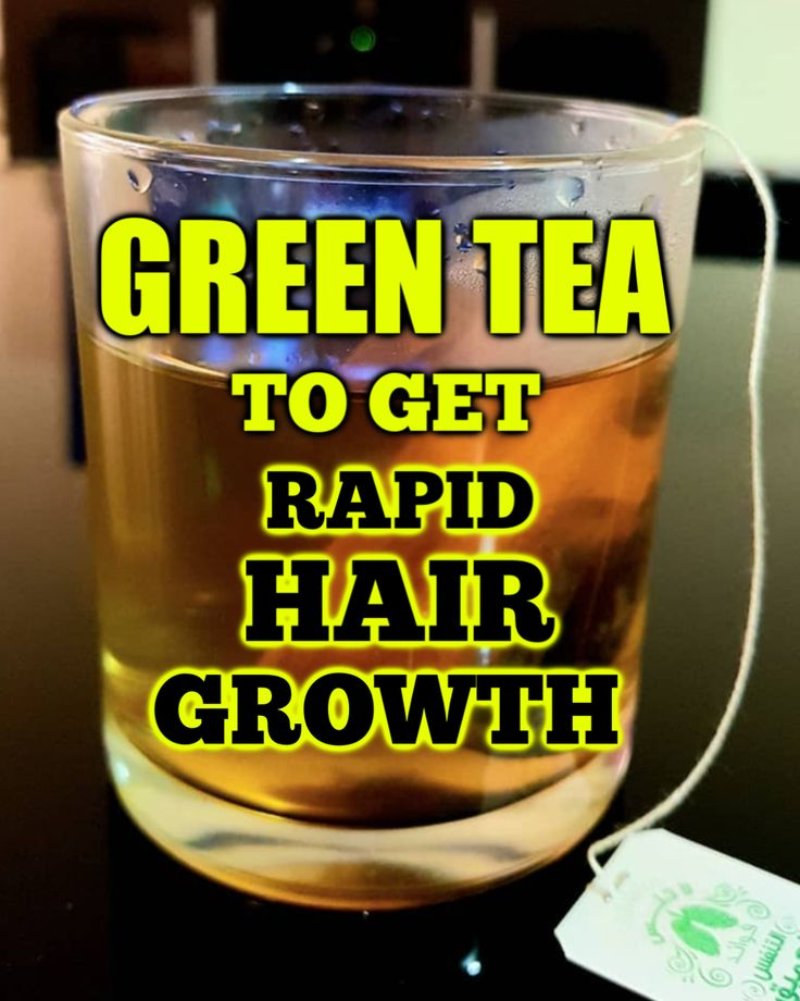 The right way to use inexperienced tea to get a fast hair development naturally