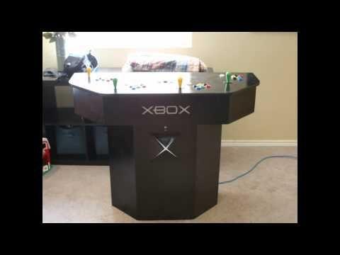 xbox arcade pedestal - YouTube