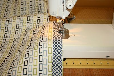 I put the binding on this quilt the other day (week?) and I machine bound it. I thought ahead enough to snap a few photos along the way so I...
