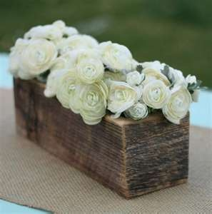 What a neat way to use an old piece of scrap wood, and still have a very elegant look!