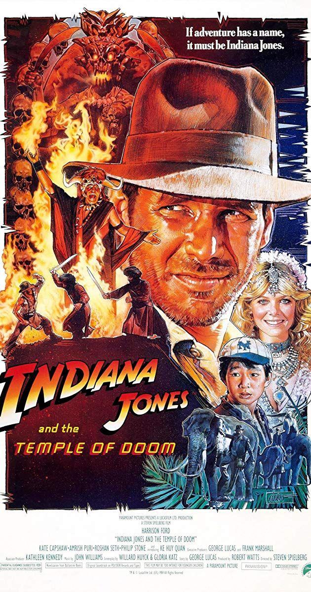 Indiana Jones And The Temple Of Doom 1984 Pg 1h 58min Action Adventure 23 May 1984 Usa 0 55 Clip3 Vide Indiana Jones Doom Movie Indiana Jones Films