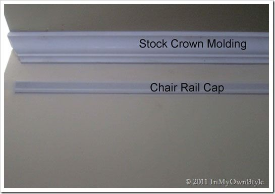 Beefing up crown moulding without breaking the bank! Its cheaper to do this than buying the real thick stuff!!!