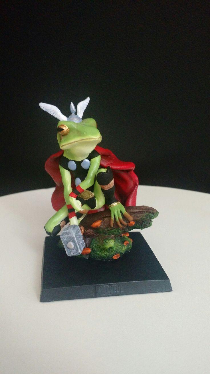 Eaglemoss - Thor Frog custom