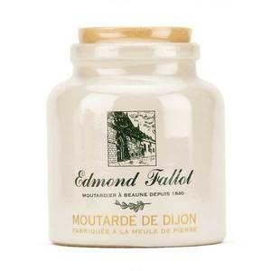 Etablissements Fallot - Moutarde de Dijon en pot de grès