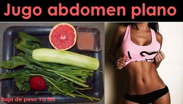 Jugo para reducir abdomen