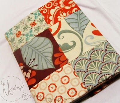 Patchwork Book Covers