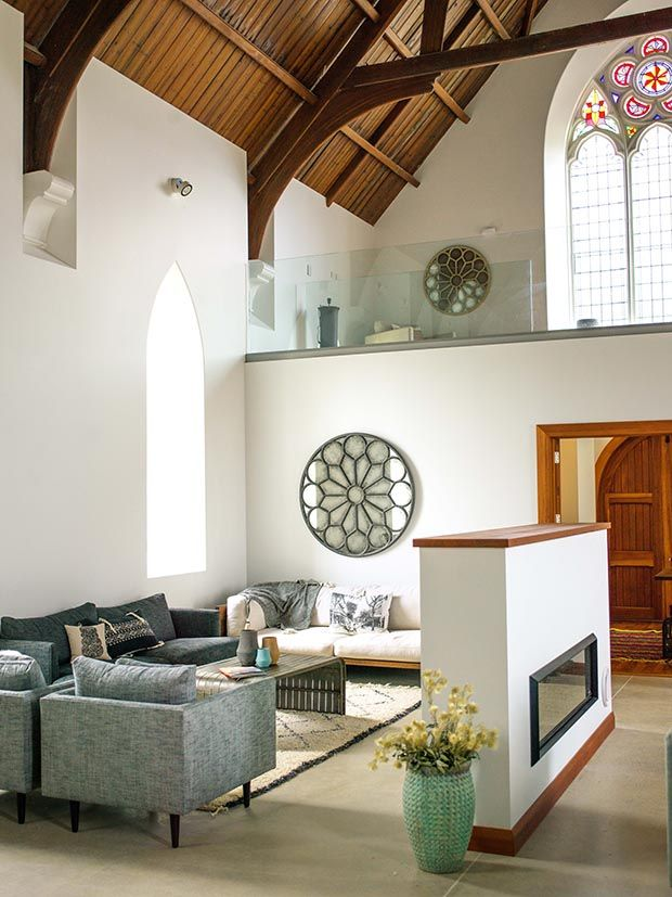 #renovation #church #stainedglass #highstud #conversion #holidayhome #family #holiday #cromwell #newzealand #thisNZlife #dreamhome