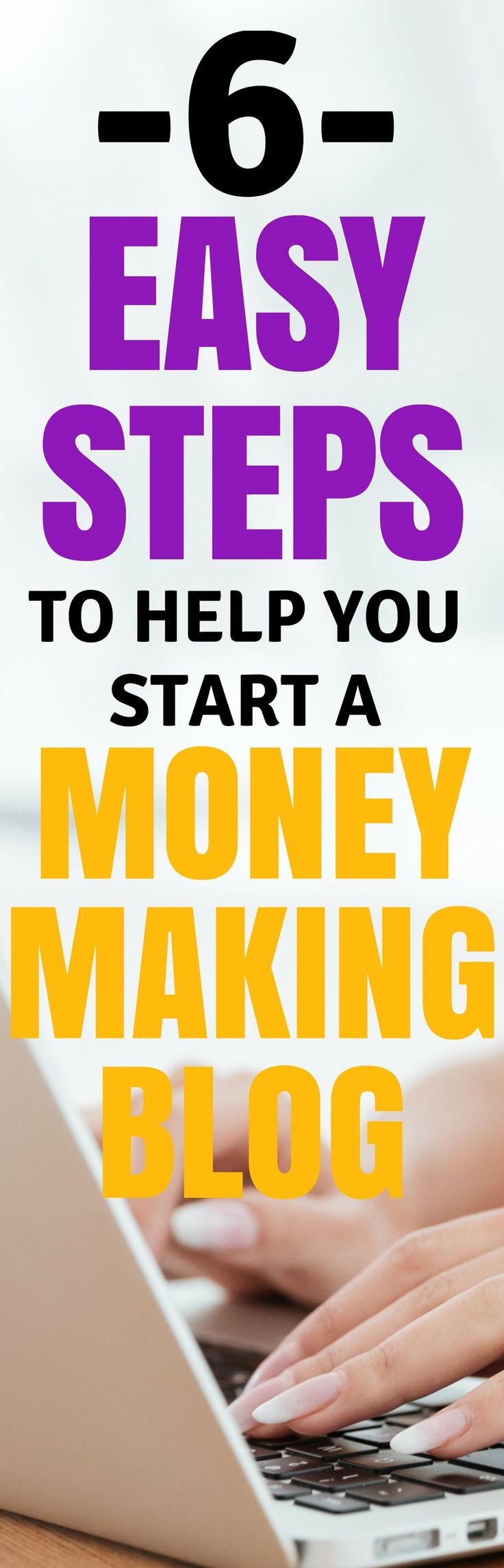 How to start a blog to make money online. This is the best guide for new bloggers who really want to get started blogging. Pinning this for sure!