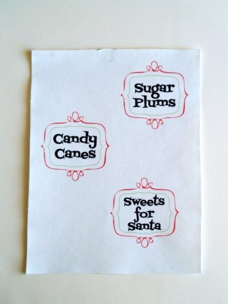 Christmas Candy Jar Labels » Flamingo Toes