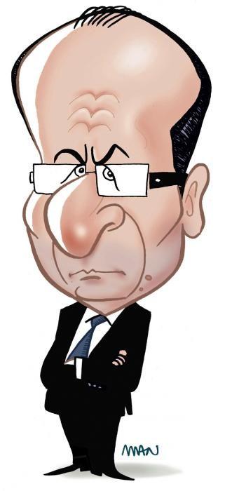 Caricature : Hollande François