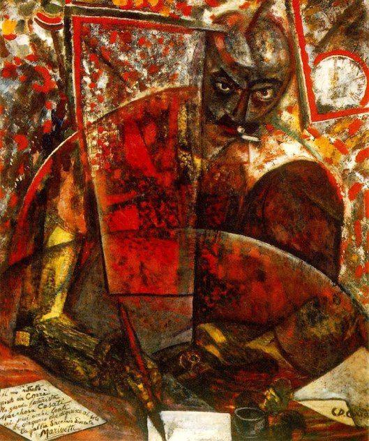 filippo tommaso marinetti paintings   Filippo Tommaso Marinetti   barbarainwonderlart © Barbara Meletto