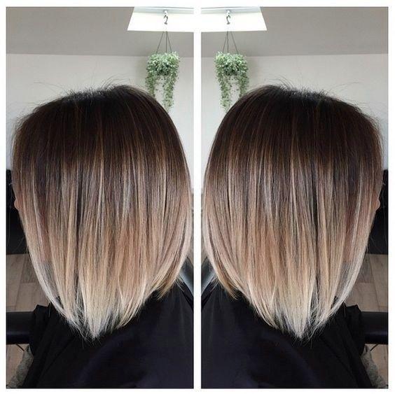Tremendous 1000 Ideas About Ombre Short Hair On Pinterest Blonde Ombre Short Hairstyles For Black Women Fulllsitofus