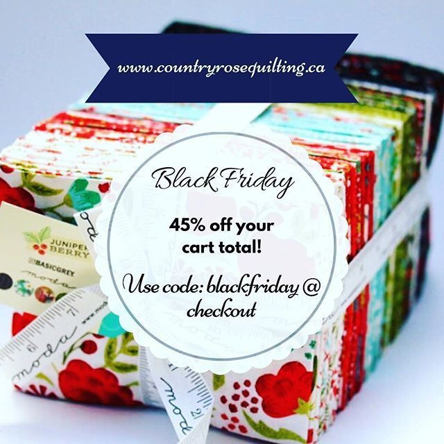 Black Friday deal ends tomorrow! Get your 45% off before it is gone. — Black Friday Sale on now!! All weekend enjoy 45% off of your cart total. Offer valid until Monday😊 see bio for link.