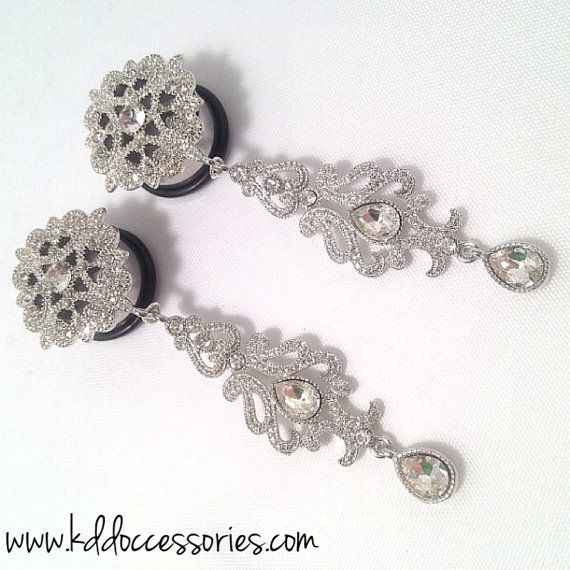 "Occessories -  00ga, 7/16"", 1/2, 9/16, 5/8"", 3/4"" Plug Plugs Gauges Wedding Plugs on Etsy, $43.75"