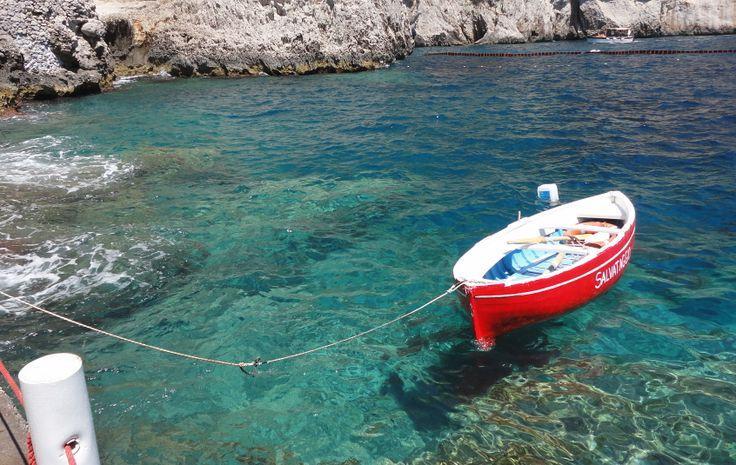 Deep Blue - Capri #love #summer #italian #vacation