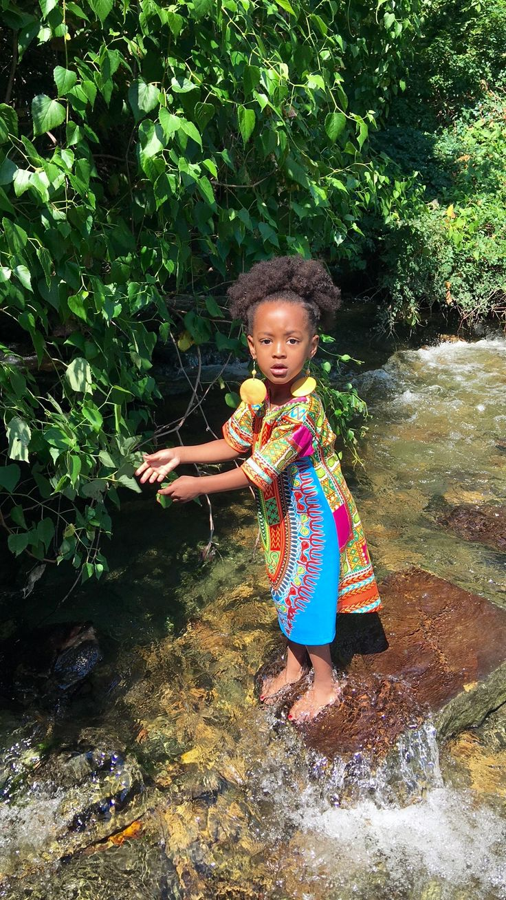 Toddler Photos #atthelake #inthelake #ethnic dress #that expression #so pretty