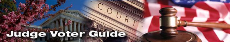Judge Voter Guide, Recommendations & Results for California Superior Court Judges