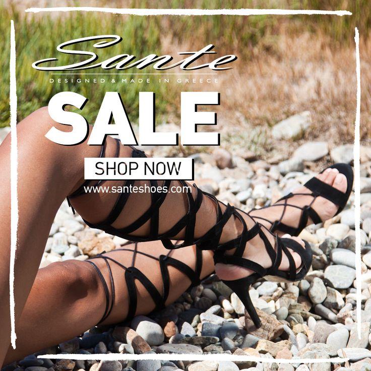 SANTE Summer SALE #SanteMadeinGreece Shop online: www.santeshoes.com